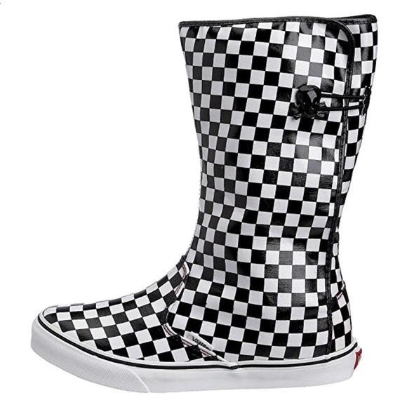 ce9a1a3c7a Vans Dasan Checkered Rainy Day Boots